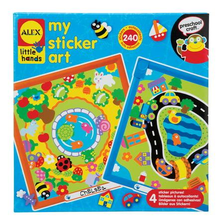 Alex Sticker - ALEX Toys Little Hands My Sticker Art