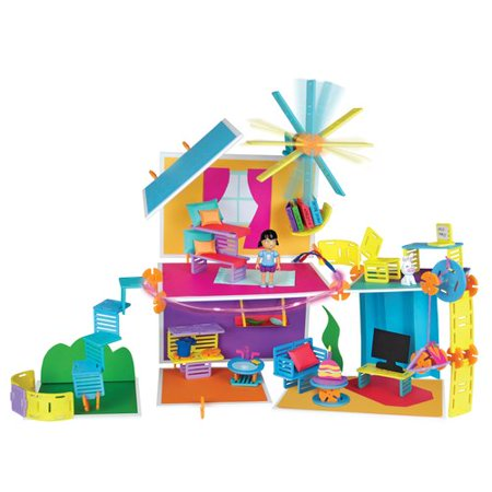 PlayMonster Roominate Chateau (Orange And Blue Color Mix)