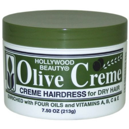 Hollywood Beauty Olive Cholesterol & Olive Creme, 7.5 oz (Pack of 3)