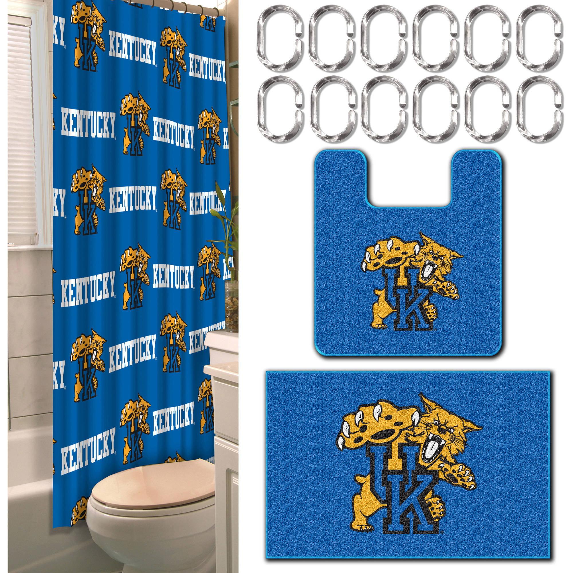 NCAA Kentucky Wildcats 15-Piece Bath Set