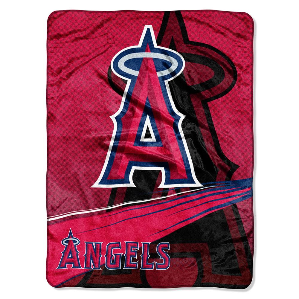 "Los Angeles Angels Of Anaheim 60""x80"" Royal Plush Raschel Th"