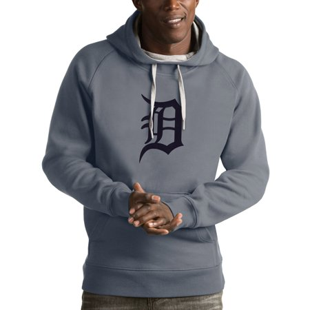 size 40 cc340 01dd5 Detroit Tigers Antigua Victory Pullover Hoodie - Heathered Gray -  Walmart.com