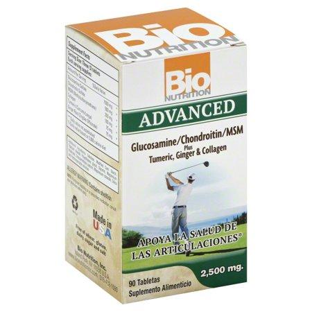 Bio Nutrition Bio Nutrition Advanced Glucosamine/Chondroitin/MSM, 90 ea