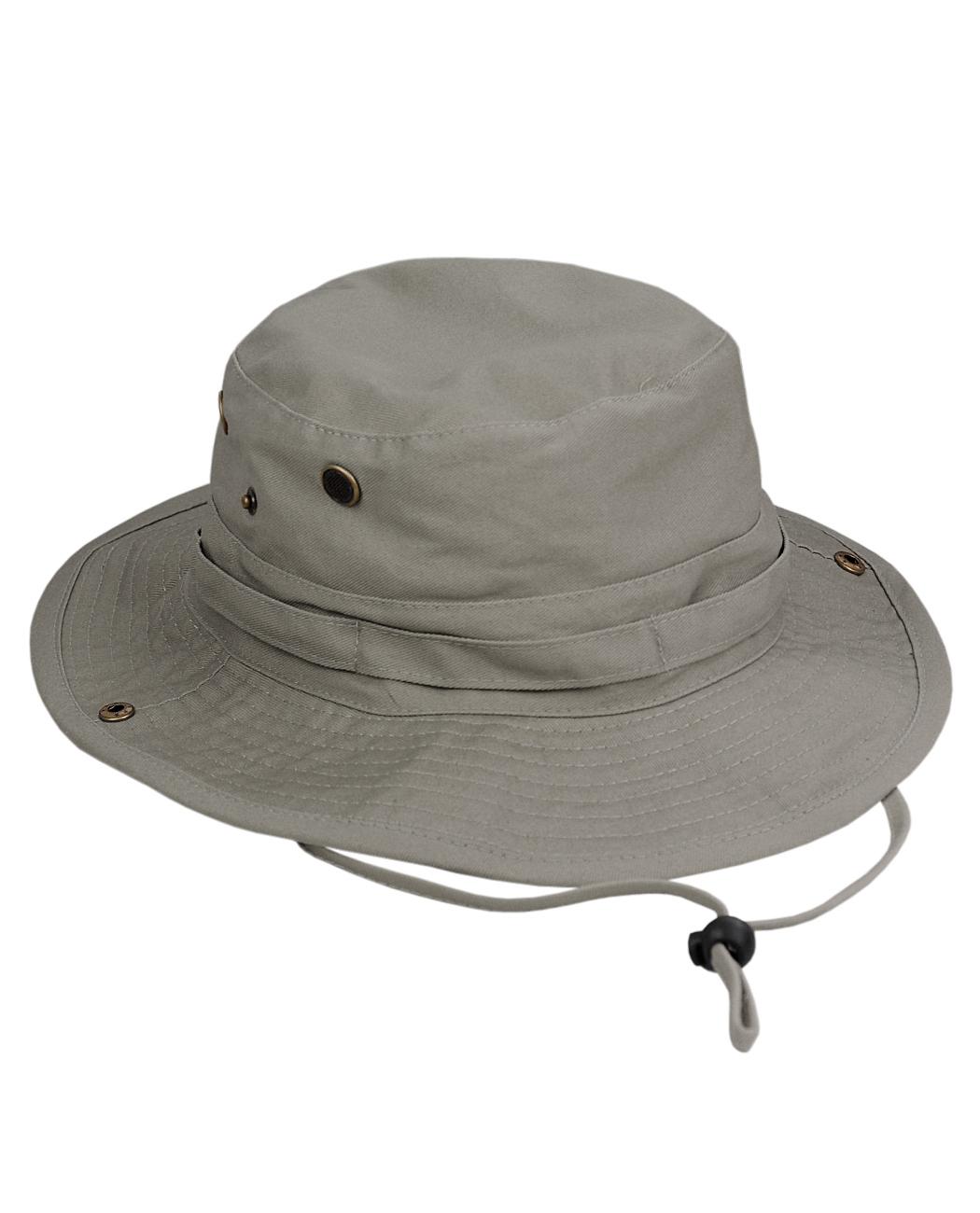 6e634152de2 NYFASHION101 Men s Crushable Snap Brim Cotton Outdoor Bucket Sun Hat ...