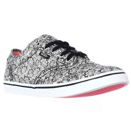 8148ed387a Vans - Womens Vans Atwood Low Skate Shoes - Henna Black - Walmart.com