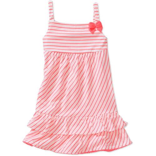 Child of Mine by Carters Baby Girls' 2 Piece Stripe Bow Dress