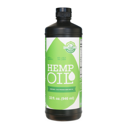 (Manitoba Harvest Cold-Pressed Hemp Seed Oil, 32.0 Fl Oz)
