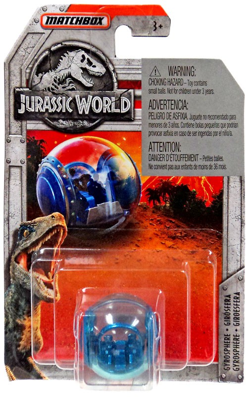 Jurassic World Matchbox Gyrosphere Diecast Vehicle by