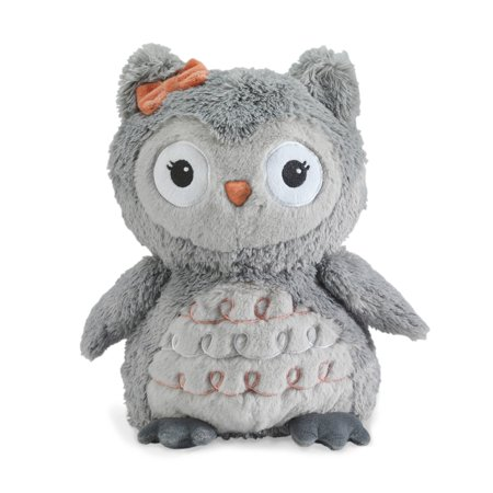 Lambs & Ivy Family Tree Gray Plush Owl Stuffed Animal 10