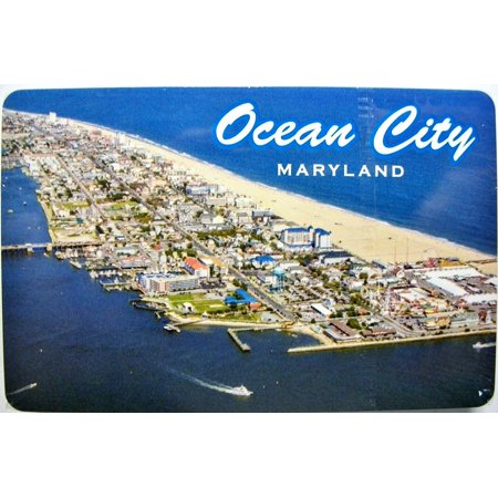 Ocean City Maryland Aerial View Souvenir Playing Cards (Party City Maryland)