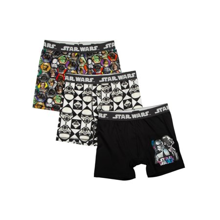 Star Wars Poly Boxer Briefs, 3 Pack (Big Boys & Little Boys) - Lone Star Boxer