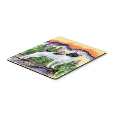 Rat Terrier Mouse Pad / Hot Pad / Trivet