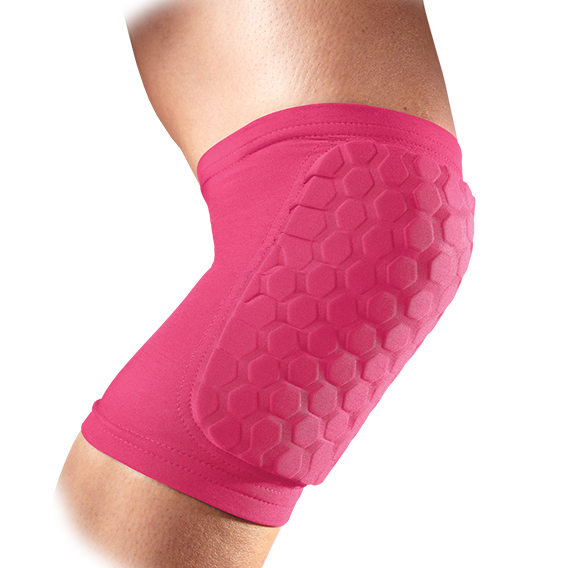 McDavid 6440 Hex Support Recovery Protect Knee/Elbow/Shin Pads 1 Pair Pink Small