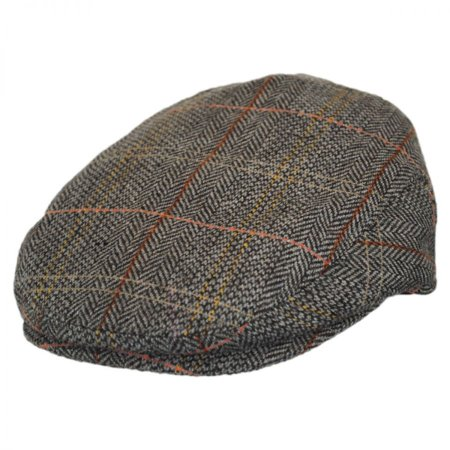 Baby Tweed Wool Blend Ivy Cap - 48cm (18-24 M) - Brown/Gray