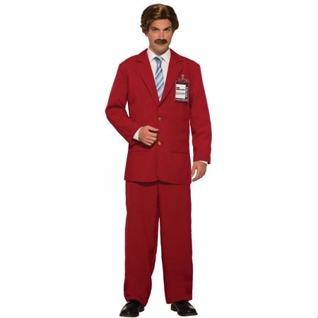 Mens Anchorman Leisure Suit