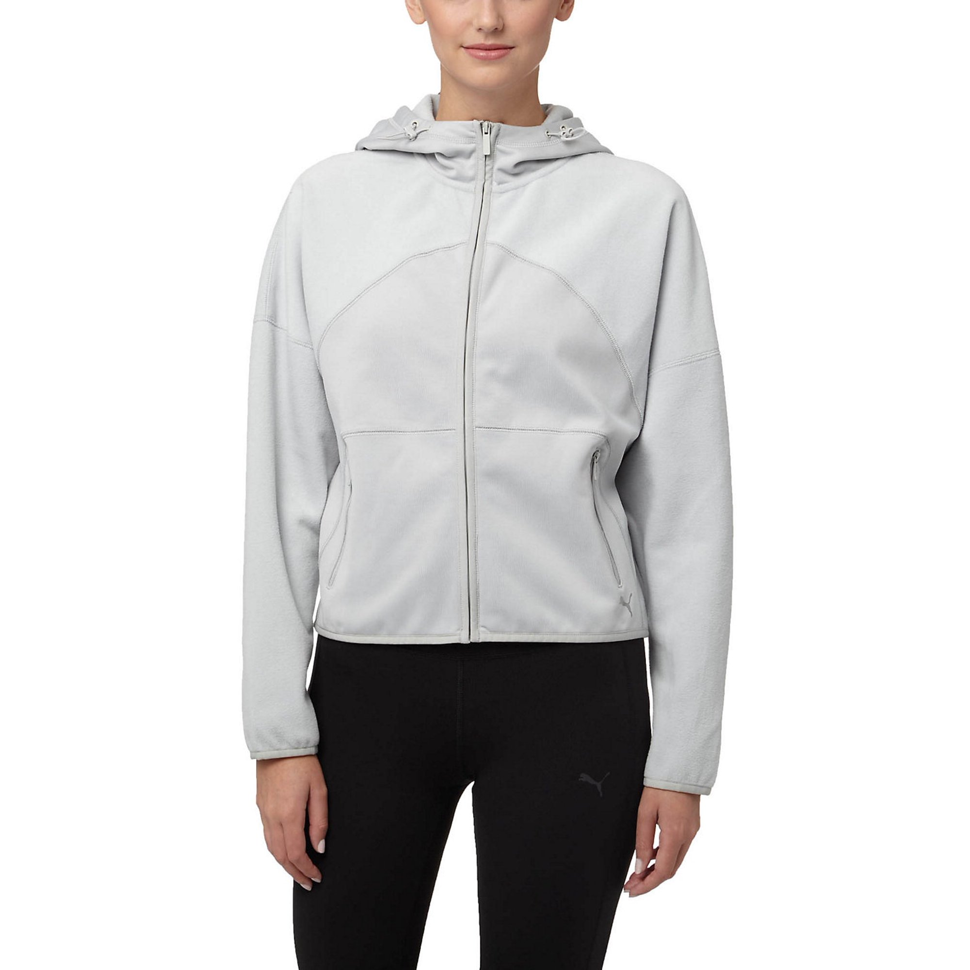 ee4f6529af52a Buy Puma Yogini Warm Full Zip Women's Hoodie Grey 514576-03 ...