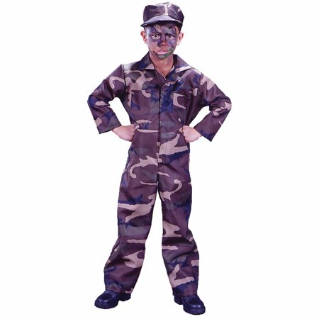 Soldier Child Halloween Costume (Baby Soldier Costume)