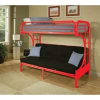 Acme Furniture Eclipse Twin over Full Futon Bunk Bed