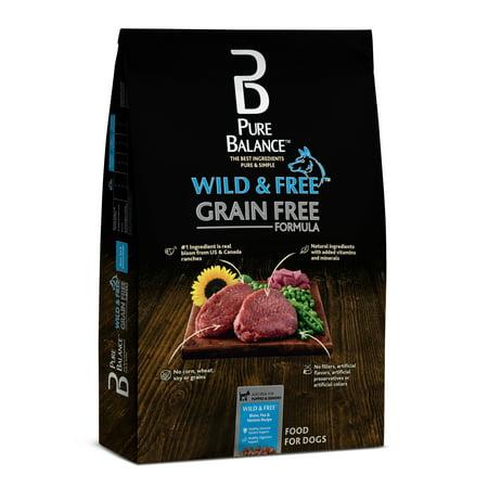 Pure Balance Wild & Free Grain-Free Bison, Pea & Venison Recipe Dry Dog Food, 24 lb (Halloween Finger Food Recipe)