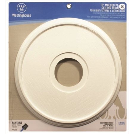 Westinghouse Lighting 7703500 Ceiling Medallions Molded