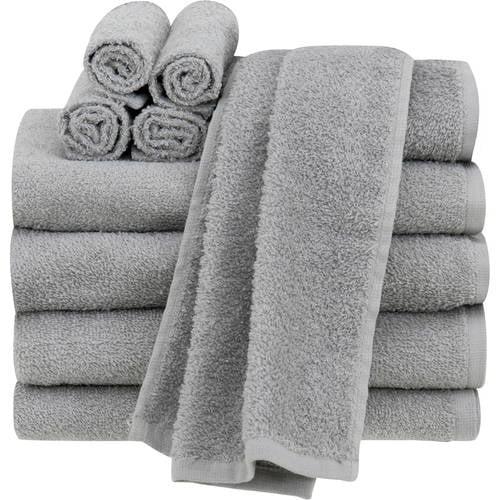 Mainstays Value 10-Piece Towel Set