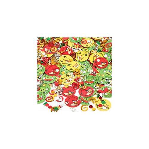 Amscan 225903 Plastic-PVC Angry Birds Value Confetti - Multi Colored