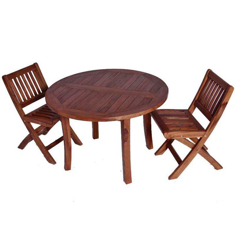 JazTy Kids Round Table ; Chair Set - Seats 2