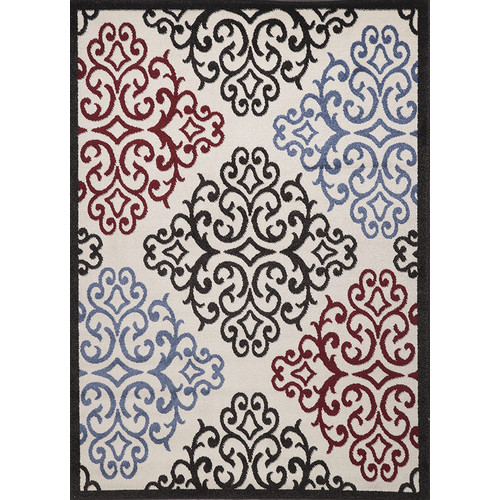 Estella Trellis Multi Area Rug, Runner 3' x 8'