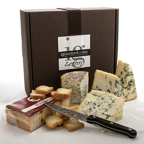 Blue Cheese Assortment in Gift Box by
