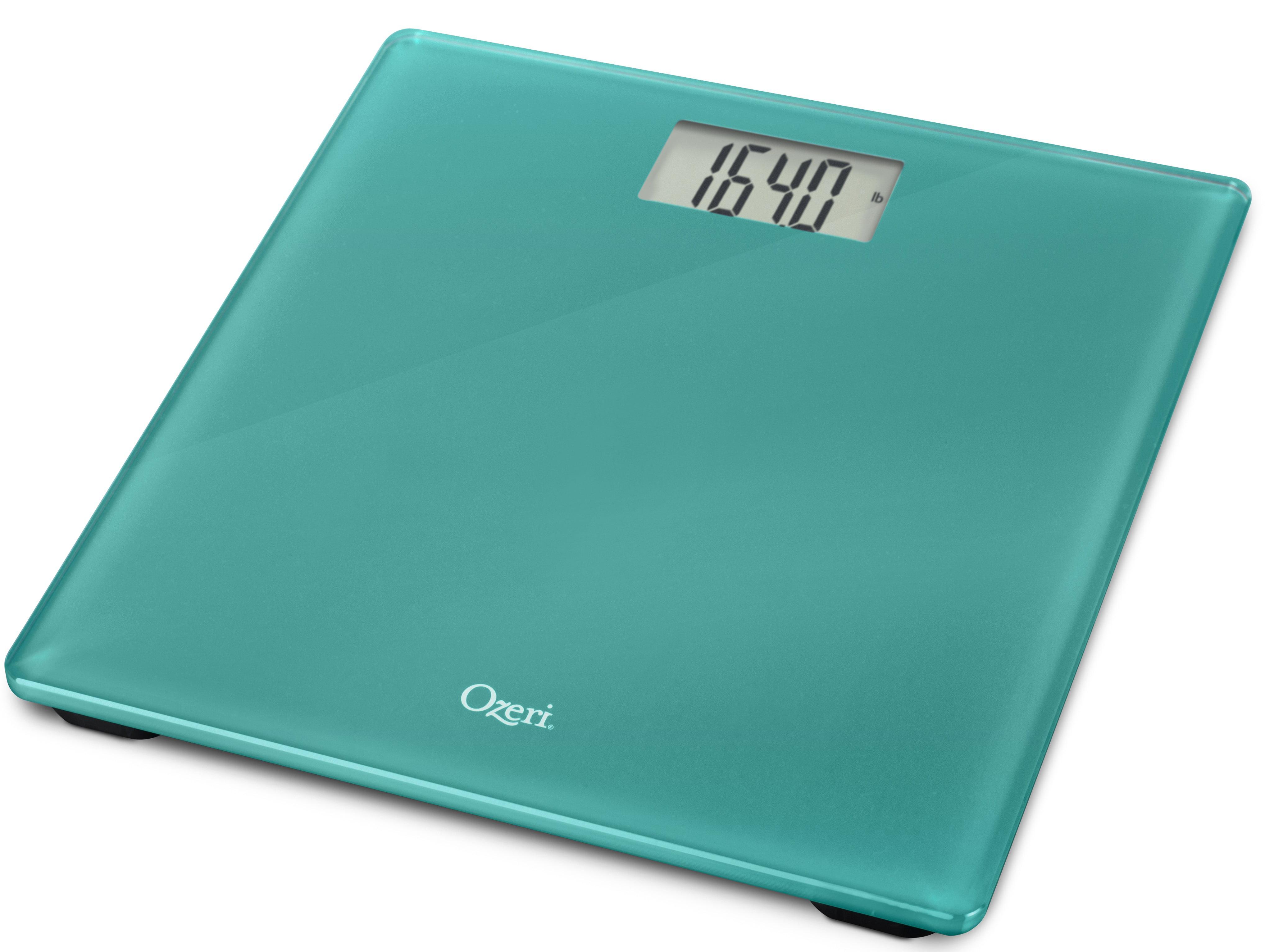 Ozeri Precision Digital Bath Scale (400 lbs Edition), in Tempered ...