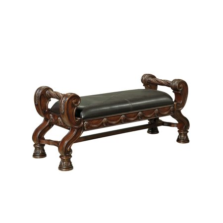 Ashley furniture north shore large upholstered bedroom - Ashley furniture bedroom benches ...