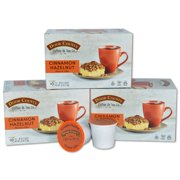 Door County Coffee Cinnamon Hazelnut Flavored Specialty Single-Serve Coffee Pods, Medium Roast, 30 Count (3 Pack, 10 Count Boxes), Compatible with Keurig 2.0 K Cup Brewers