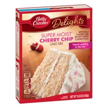 Baking Mixes: Betty Crocker Super Moist Delights Cherry Chip Cake Mix