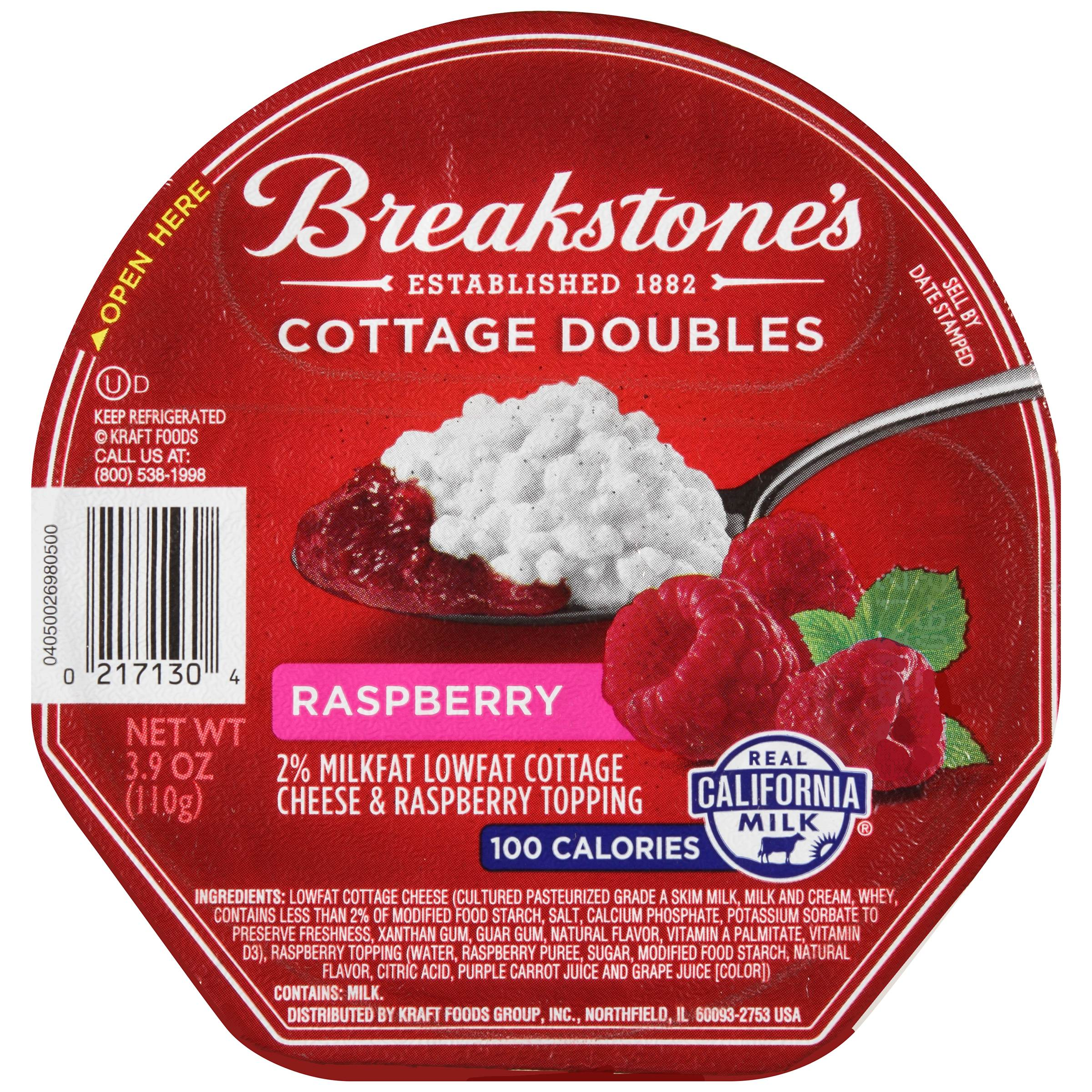 Peachy Breakstones Cottage Doubles Cottage Cheese Raspberry Topping 3 9 Oz Tub Home Remodeling Inspirations Gresiscottssportslandcom