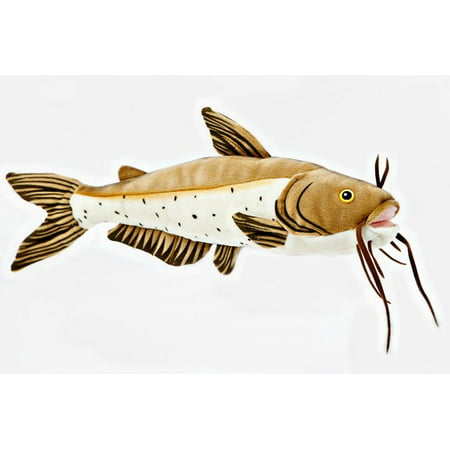 Channel Catfish -10 inch  Cabin Critters Stuffed Animal -  Freshwater Fish (Catfish Animals)