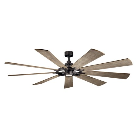 Ceiling Fan Kichler Lighting - Kichler 85 in. Gentry Indoor Ceiling Fan with LED Light