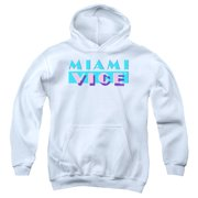 Miami Vice Logo Big Boys Pullover Hoodie