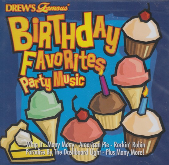 Birthday Favorites Party Music