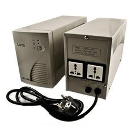 - VUPS-500 Uninterrupted Power Supply UPS System 500 Watt for 220/240 Volt Countries