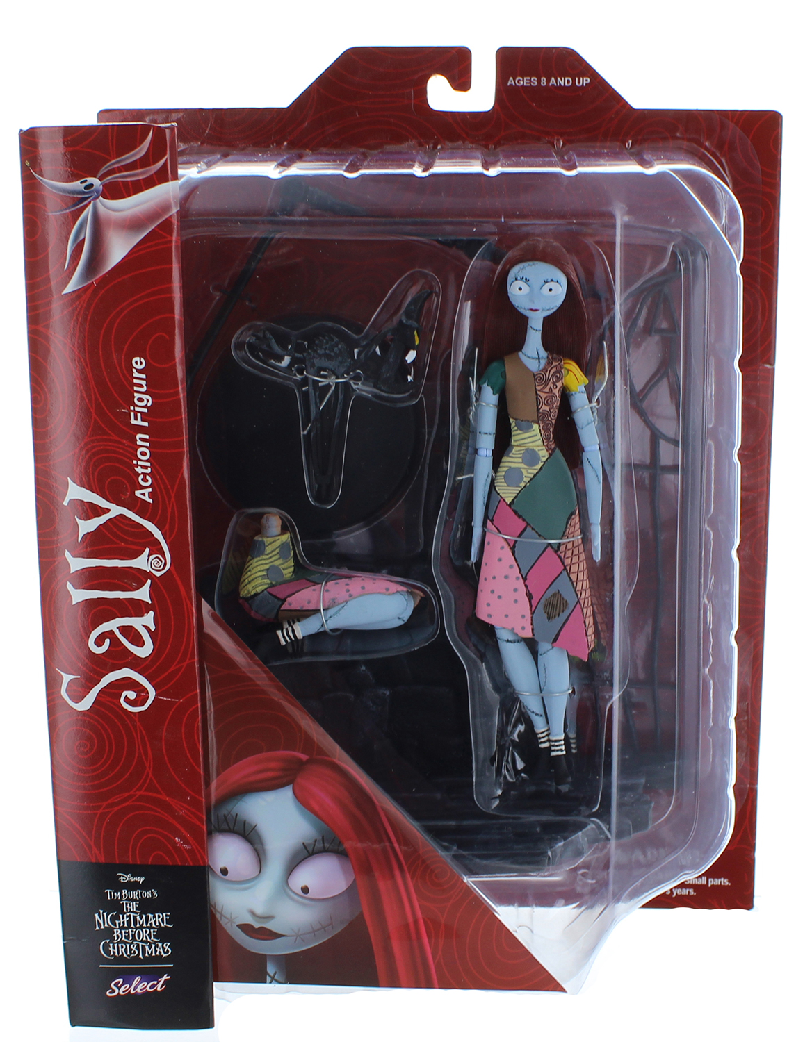 Nightmare Before Christmas Select Sally Action Figure - Walmart.com