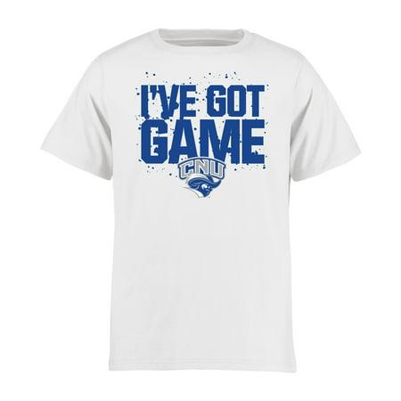Christopher Newport University Captains Youth Got Game T-Shirt - -