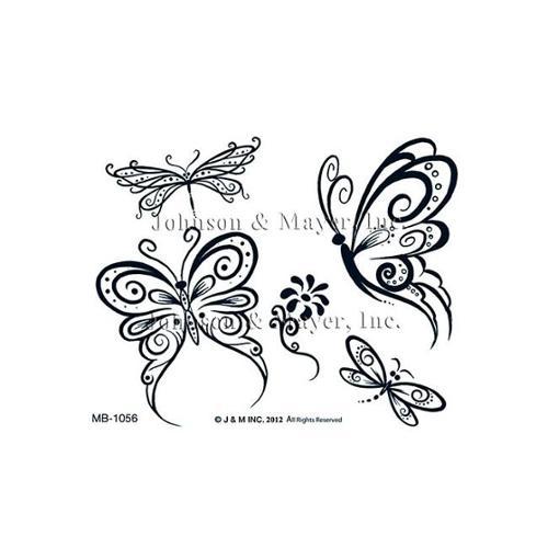 Johnson & Mayer MB-1060JM Flower Butterfly Tattoo
