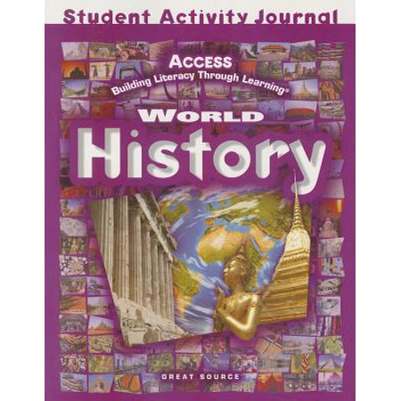 Access World History : Student Activities Journal Grades