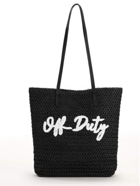 0d445d47741 Product Image Time and Tru Packable Straw Tote