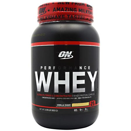 Optimum Nutrition Performance Whey   Vanilla Shake  2 09 Lbs  950 G