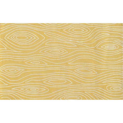 "The Rug Market Shire Yellow 8"" x 10"" Area Rug by The Rug Market"