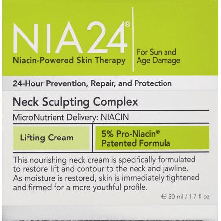 NIA24 Nia 24 Neck Sculpting Complex - 1.7 oz / 50 ml New Fresh -