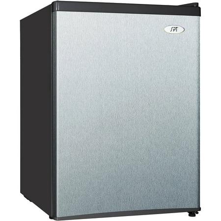 Sunpentown 2.4 Cu Ft Compact Refrigerator RF-244SS, Stainless