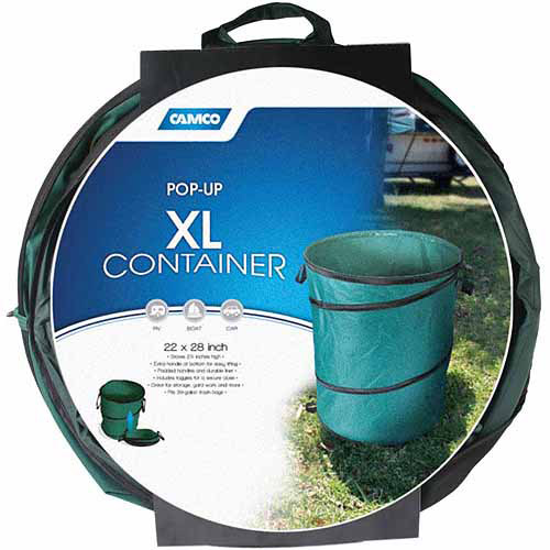 "Camco Collapsible Container, 22"" x 28"""