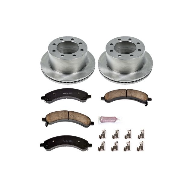 Powerstop Brake Disc and Pad Kits 2-Wheel Set Rear New for Chevy KOE5328